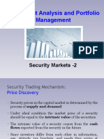 Security Markets - 2