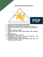 Langkah Pencegahan Pasien Risiko Jatuh