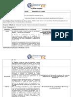 Planificación actividad webquest