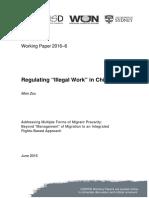 "Regulating ""Illegal Work"" in China"