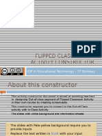 Flipped Classroom Activity Constructor General