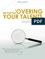Discovering Your Talents Assessment