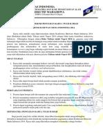 4 Petunjuk Teknis Pembuatan Paper KIMI 20141