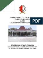 LPPD Desa Plesungan 2015 (Permendagri)