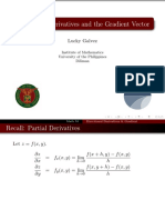 01 Directional Derivatives and Gradient