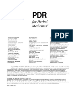 [Thomas Fleming] PDR for Herbal Medicines