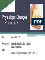 PhysiologicChangesinPregancyof16March2011byLuketicetal