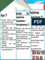 Leaflet Penyuluhan Migrain