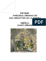 Informe Papeleras Urbanas SS Gomera I Parte