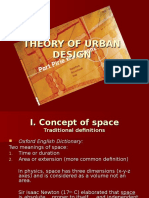 t4 - Theory of Urban Design
