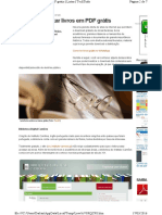 Sites Para Baixar Livros Em PDF Grátis