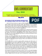 PDC News Commentary - May 2010