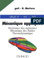 Handbook - RDM, Mécanique Des Fluides, Thermodynamique (Dunod, 1996, 255P)