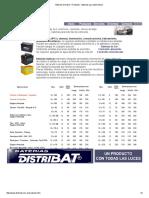 Baterías Distribat - Productos - Baterías para automotores.pdf