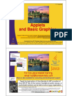 Java Applets and Graphics