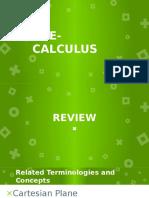 Pre-calculus Circles