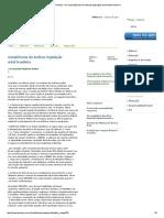Techoje - As Conseqüências Da Ineficaz Legislação Ambiental Brasileira