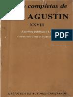 Agustin de Hipona - 28 Escritos Biblicos 04.Pdf