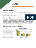 Stock Market (Phl)