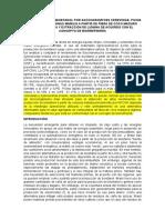 Producción de Bioetanol Por Saccharomyces Cerevisiae