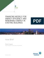 Financing Models Whitepaper 2010Sept