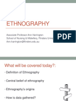 Wk2 Ethnography