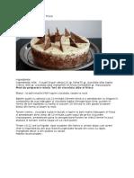 Tort de Ciocolata Alba Si Frisca