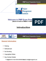 PMP Training PPT Document