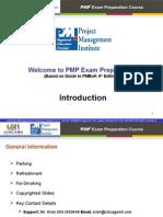 PMP Training PPT Document