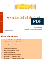 Capital Budgeting - December 2015