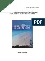 A La Recherche Des Empreintes de Khidr Dans Akhir Al-Zaman - Sheikh Imran Hosein