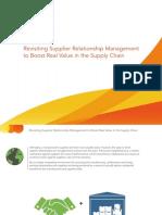 Amber Road Supplier Relationship Management eBook