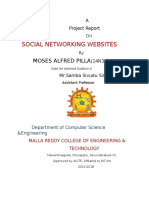 Moses Full Project on social networking websites