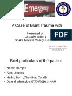Diaphragm Injury Presentation