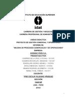 Proyecto de Gestión Comercial y Operaciones Sodimac