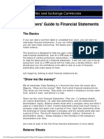 Beginners' Guide to Financial Statements