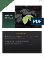 (3) Mantenimiento Proactivo - Efectos de Falla