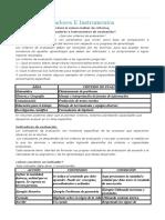 Criterios, Indicadores y Instrument