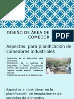 Diseño de Área y Comedor