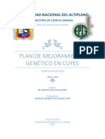 Mejoramiento Genetico Cuy