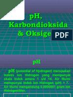 5. pH,  Karbondioksida & Oksigen