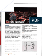 IEEMA-Basics of Dual Ratio Transformers