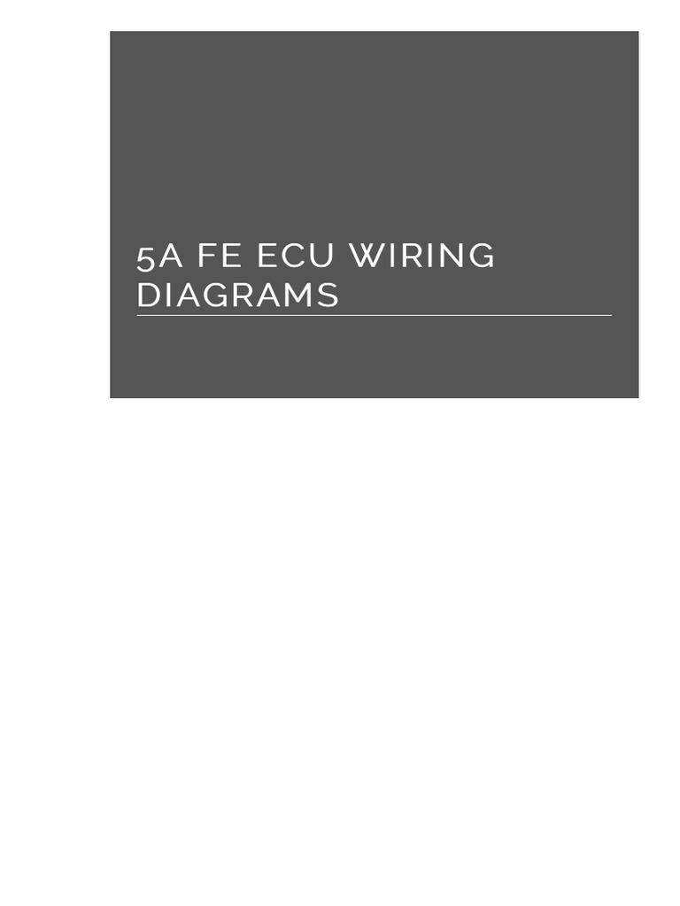 5a Fe Ecu Wiring Diagrams n8zc8