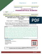 16.Dipyridamole Tablets Using a Sublimation Method
