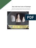 Three chalcedony tools from Castro of Zambujal