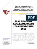 Plan de Acción (Pama) 2016 Ie 1199 Mrc