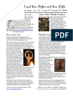 Issue #42, One Thousand and One Nights and One Night RPG Campaign Design 'zine