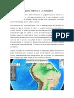 Distribución Temporal de Los Terremotos - Microsismicidad