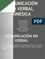 Exposicion Comunicación No Verbal Kinesica