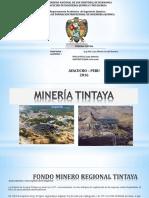 Minería tintiya
